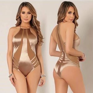 Silk super sexy  body suit